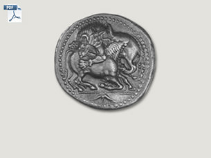 Tetradrachmon aus Makedonien