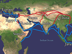 The importance of the Silk Road