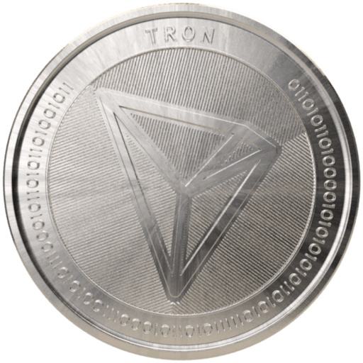 TRON (TRX) coin visualisation